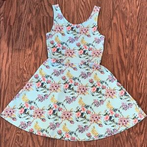 Divided by H&M Floral Sleeveless Dress Size 8